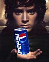 Frodo Drinks Pepsi