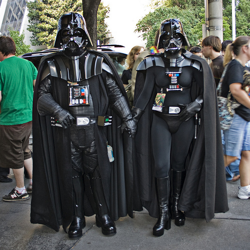 """Mr And Mrs. Vader"" courtesy of Cayusa"