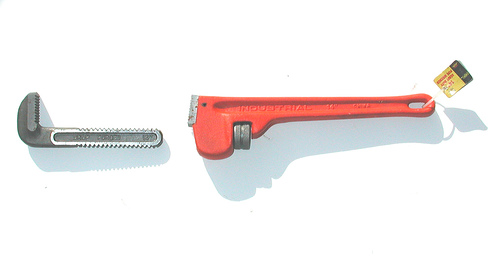 Pipe Wrench courtesy of Scott Arch